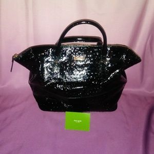 Kate Spade Blaine Ostrich Leather Tote